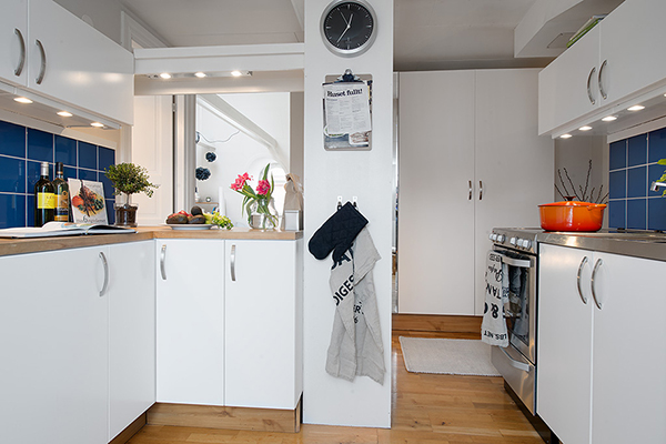 Stockholm Attic Apartment Blends Scandinavian Ease With