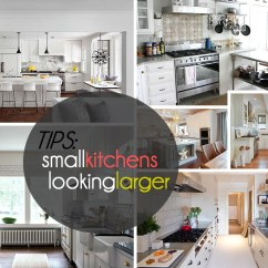Decorating Kitchens Metal Kitchen Tables Tips That Make The Most Of Your Space View In Gallery Small Looking Larger