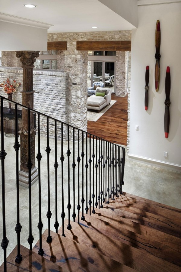 Modern Rustic Staircase Designs