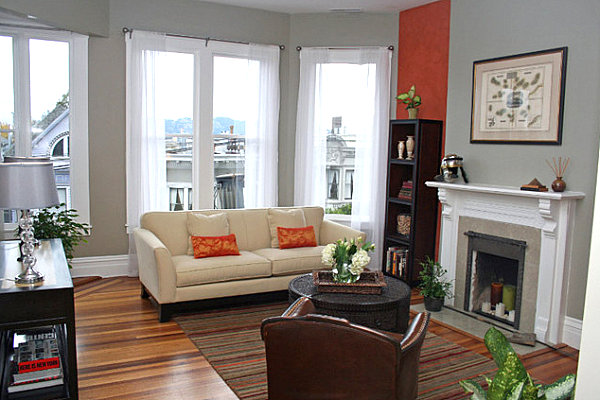 living room wall paints antique ideas how to choose paint colors and strategies view in gallery bright dash of color an eclectic