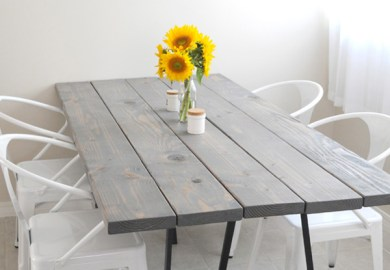 Easy Diy Dining Room Table