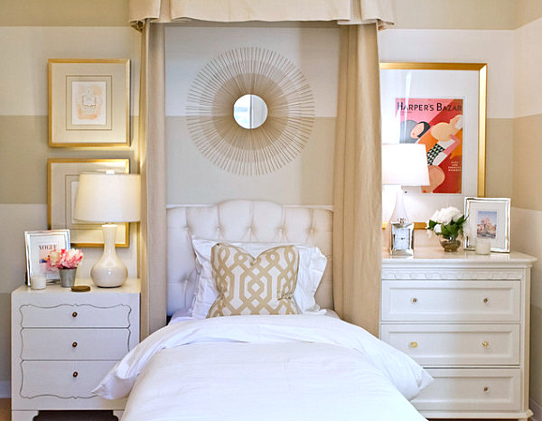 feminine adult bedroom pink His and Hers: Feminine and Masculine Bedrooms That Make a Stylish Statement