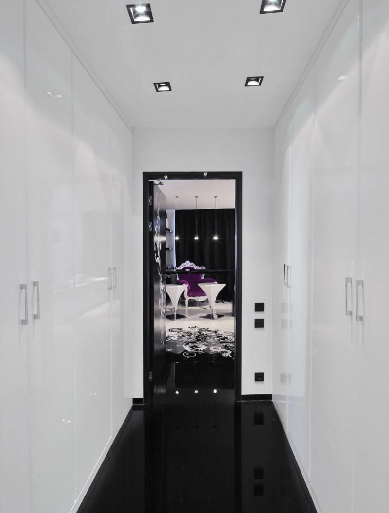 orange living room chair black white and purple ideas project begovaya: stunningly stylish interiors in striking ...