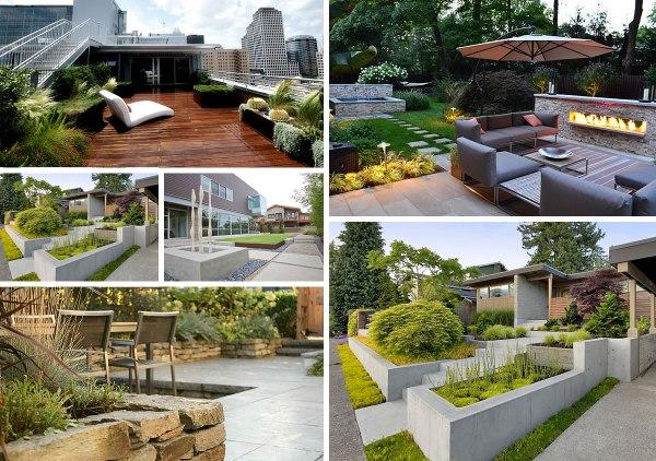 5 modern landscaping essentials