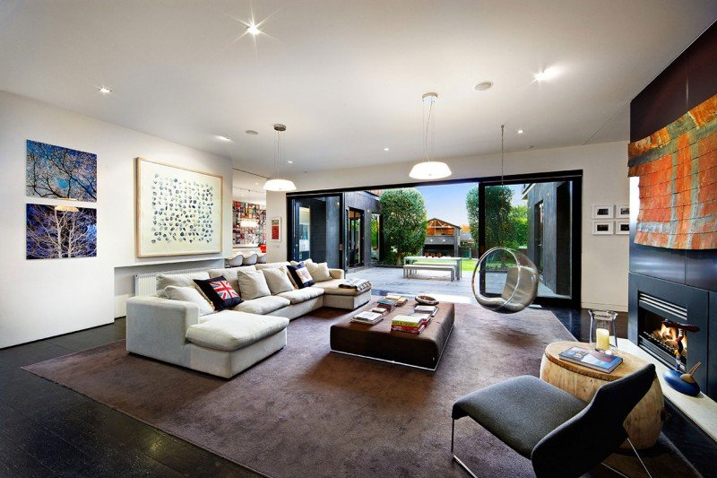 living room extension pictures grey paint elegant victorian residence in melbourne gets a classy contemporary view gallery decor
