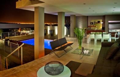 south africa johannesburg van meulen nico der houses mansion bassonia tat architects living room luxury luxurious glass interiors century views