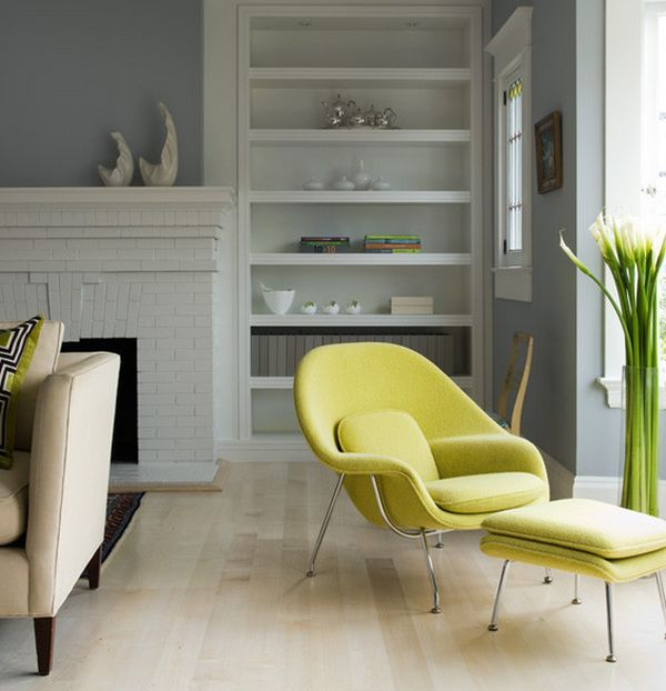 Home Style With Eero Saarinens Iconic Womb Chair
