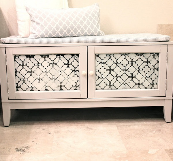 View In Gallery Bench Storage Diy