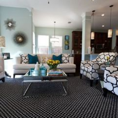 Grey White Turquoise Living Room Designs For Apartments In India Decorating With Colors Of Nature Aqua Exoticness Black And Print Combined Elegantly Striking Accents