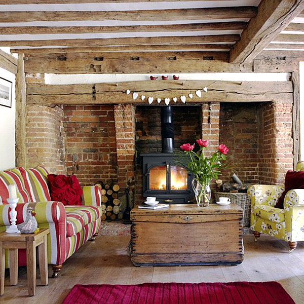 Country Home Decor with Contemporary Flair