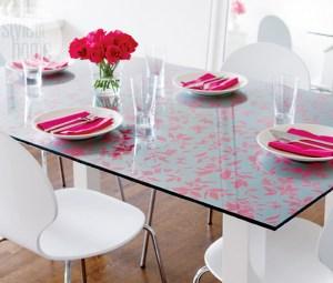 glass dining paint creative dresser