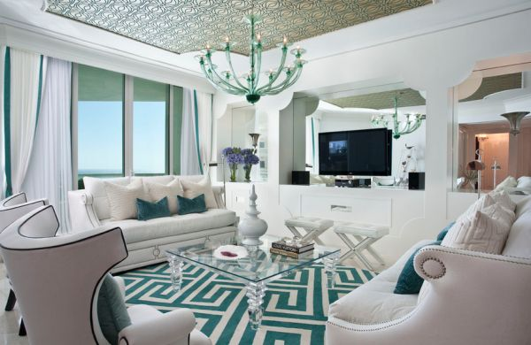 gray and turquoise living room decorating ideas brown rugs with colors of nature aqua exoticness view in gallery hollywood regency styled interiors shades white