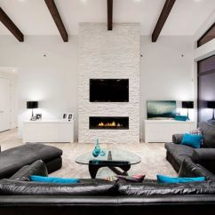 Gray And Turquoise Living Room Tall Tv Stands For Decorating With Colors Of Nature Aqua Exoticness View In Gallery Minimalist Black White Cushion Accents
