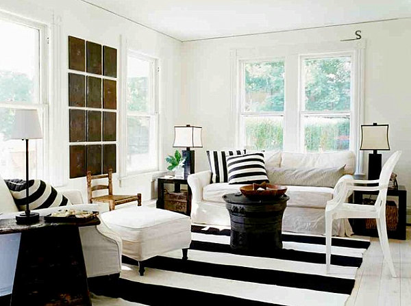 modern country living room designs beautiful curtains for small home decor with contemporary flair view in gallery stripes