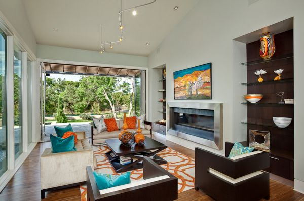 turquoise accents for living room decorating with colors of nature aqua exoticness view in gallery orange and bring a bold bright contrast