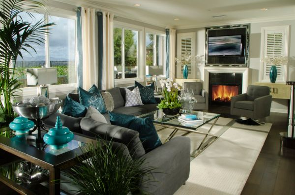 living room decor turquoise plum coloured accessories decorating with colors of nature aqua exoticness view in gallery stunning contemporary exquisite use accents
