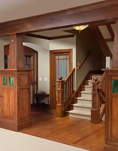 Wooden detailing in the interior of  craftsman home also decor ideas for style homes rh decoist