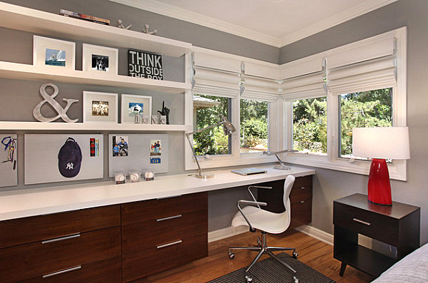 home office guest bedroom design ideas Guest Room Decorating Ideas for a Dual-Purpose Space