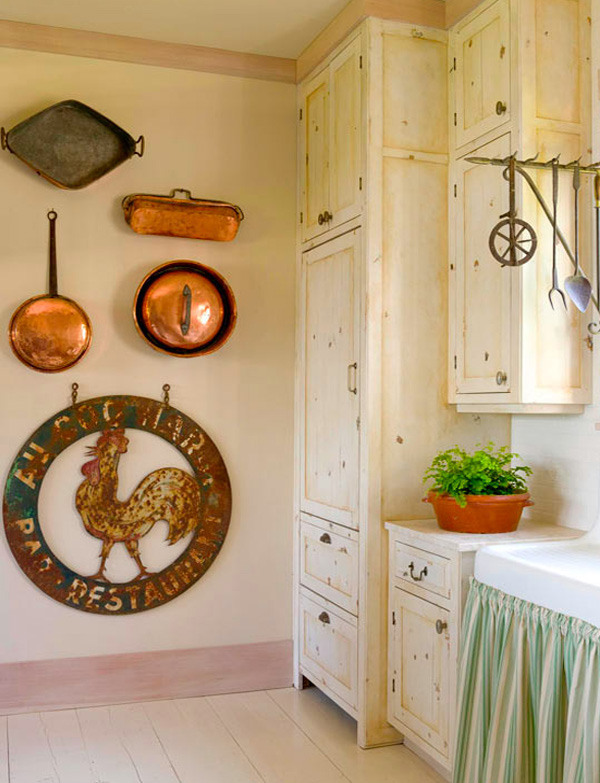 kitchen wall art decor countertops michigan easy diy ideas that showcase unexpected design view in gallery antique iron fixture