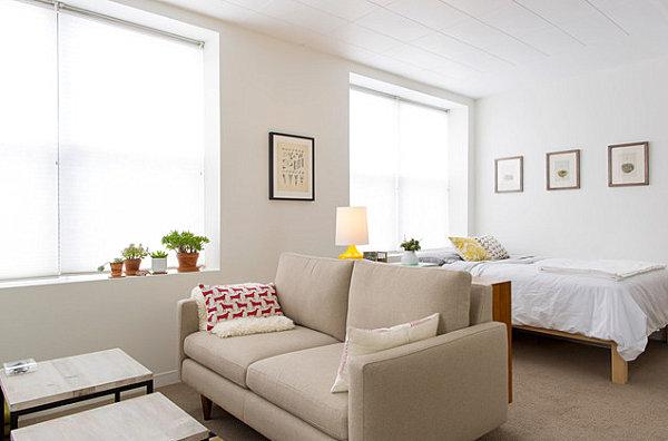 Studio Apartment Furnishing