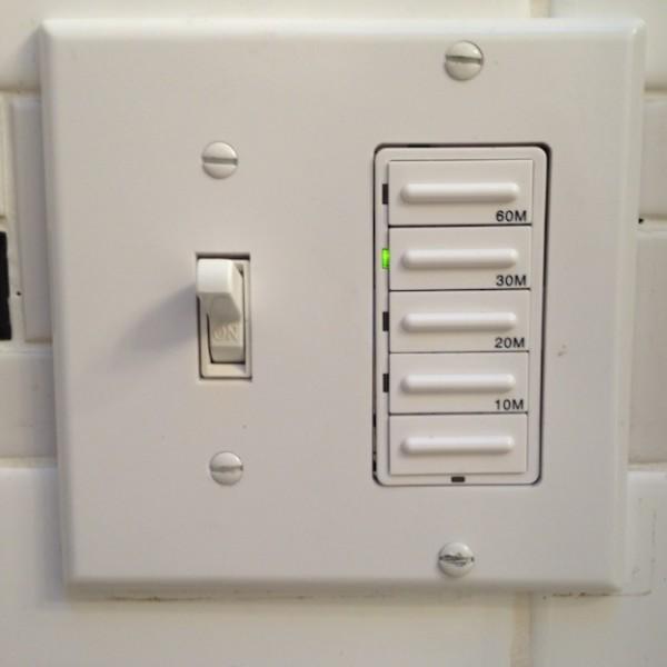 Wiring Bath Fan Switch