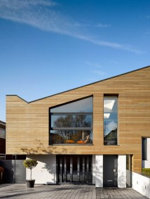 Modern House Exterior Wood Cladding