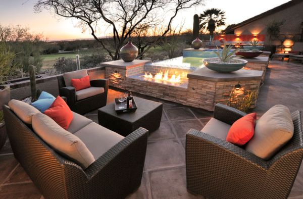 Outdoor Inspiration Stunning Design Ideas For Fireplaces By The Pool
