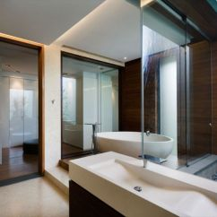 Living Room With Tiles Furniture For Studio Apartments Metallic Exterior Meets Modern Interiors At Singapore's ...