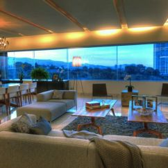 Living Room Open Plan Designs Orange Idea Lavish Interior And Lovely Views Shape P-901 Residence In ...