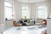 Modern Swedish Apartment With Snazzy Scandinavian Charm!