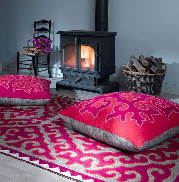 Floor Pillows And Cushions Inspirations That Exude Class