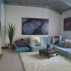 Sofa Rug Arrangement Tidafors Review Uk Floor Pillows And Cushions: Inspirations That Exude Class ...