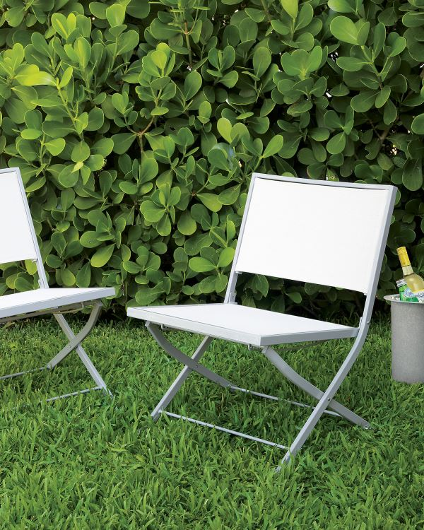 modern folding chair bubble swing stylish garden chairs for your outdoor space