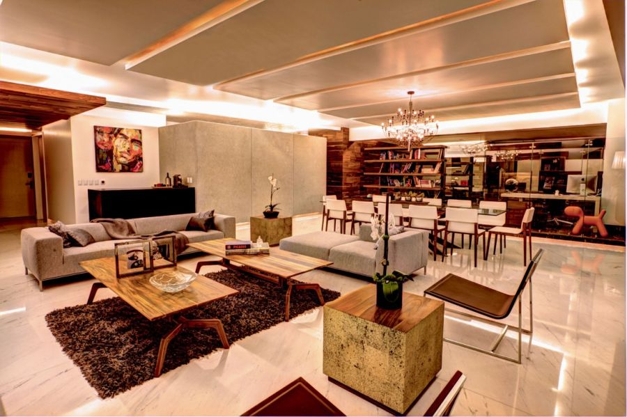 light green living room decor all black lavish interior and lovely views shape p-901 residence in ...