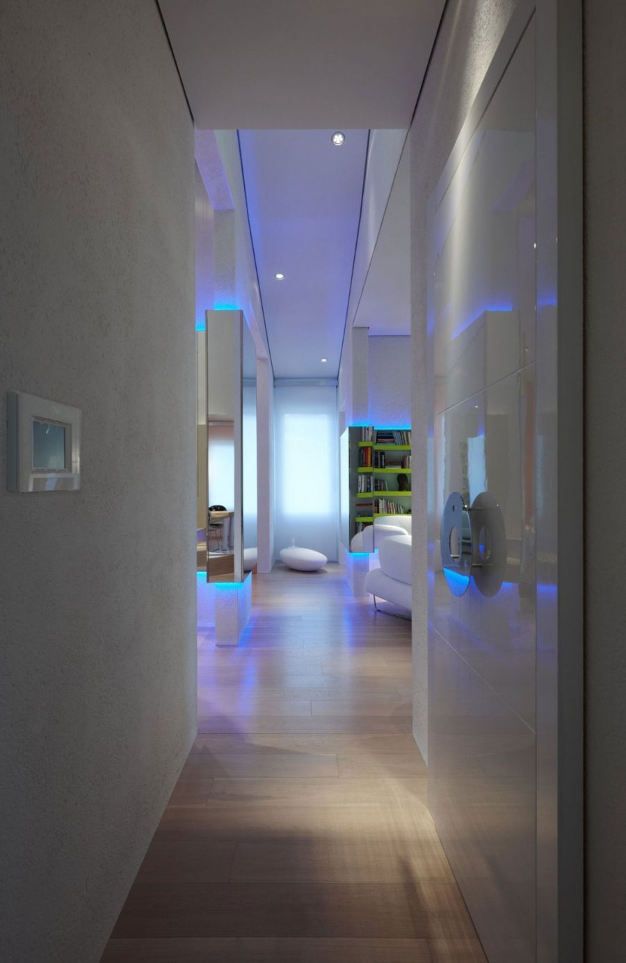 Ingenious And Futuristic Florence Residence With Hints Of