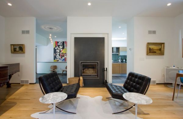 Modern Side Chairs Living Room