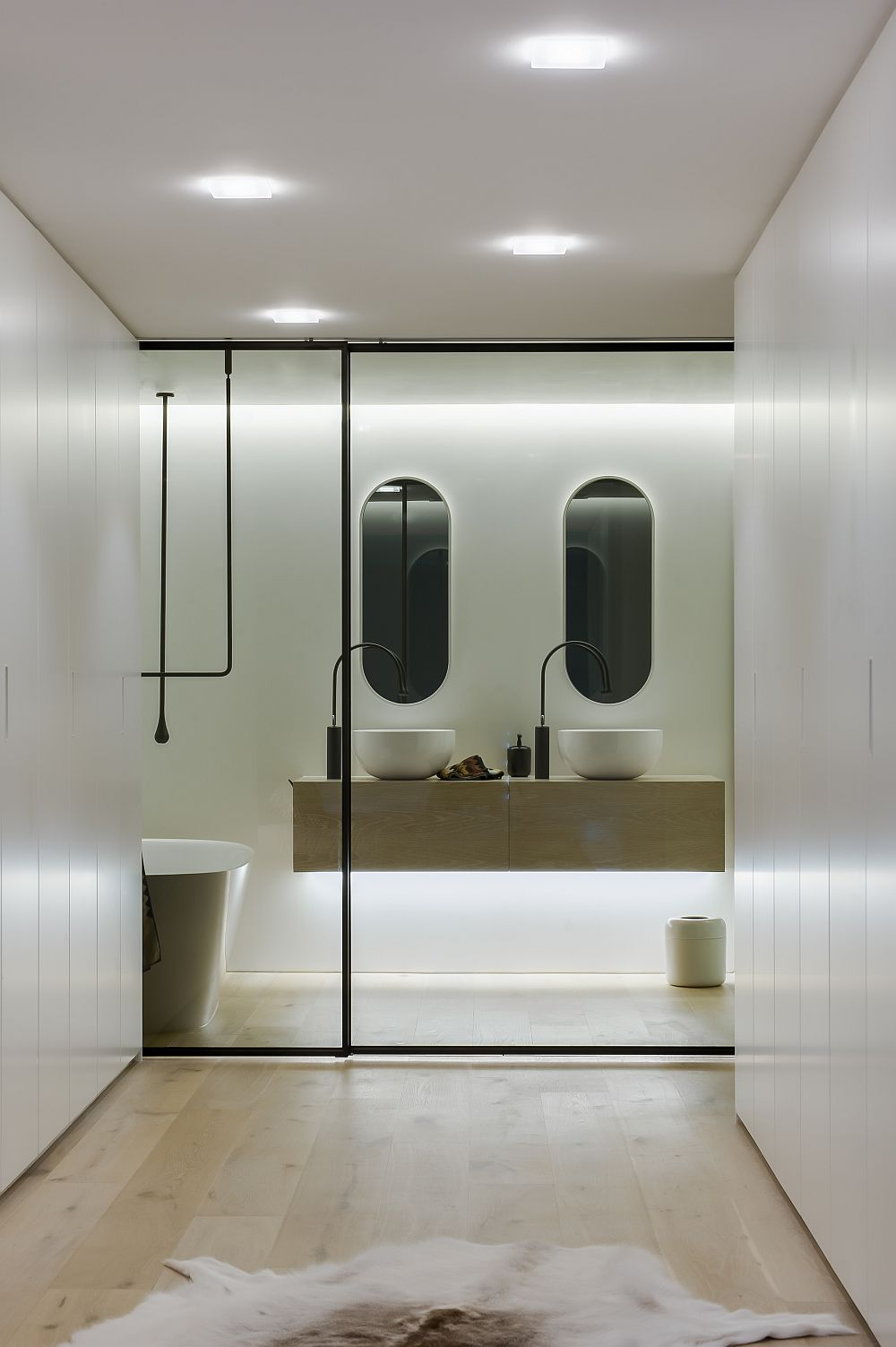 Ingenious Contemporary Bathroom By Minosa Design
