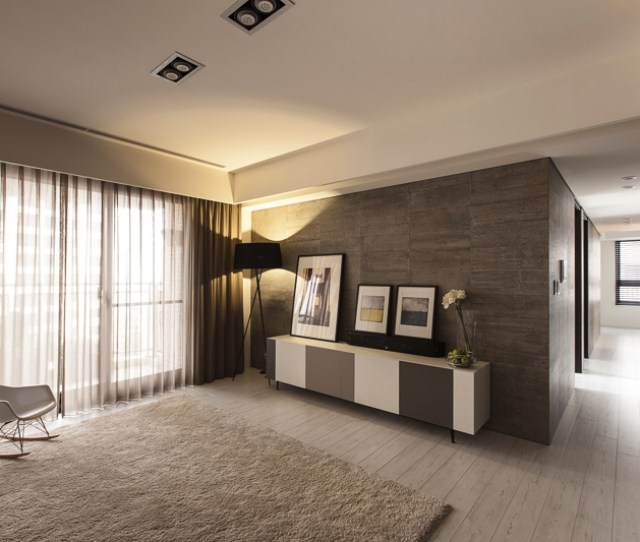 Plush Rug Softens The Look Of The Room