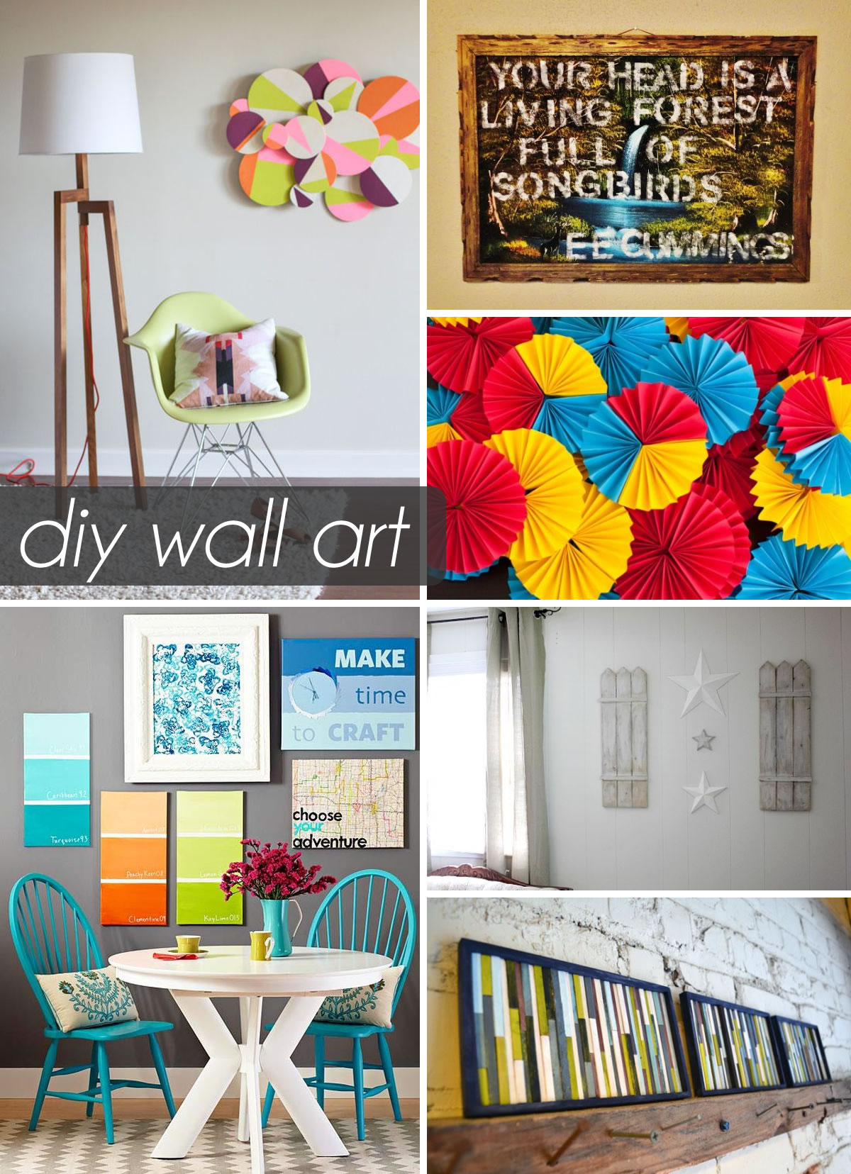 artwork for living room ideas cottage style furniture 50 beautiful diy wall art your home