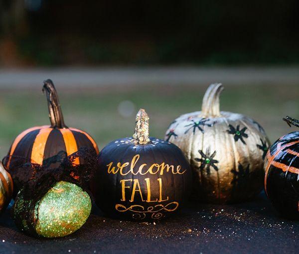 Creative DIY NoCarve Pumpkin Designs for Halloween