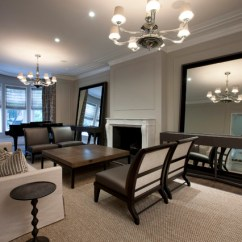 Big Living Room Mirrors Red White And Blue Decor How To Use Effectively Open Up Your Space View In Gallery Huge The