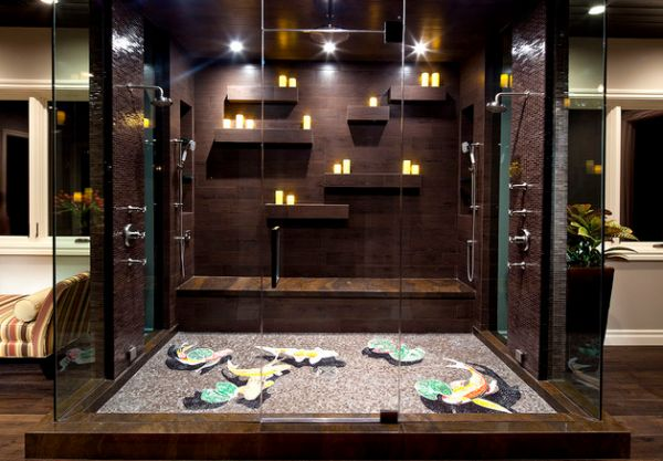Steam Showers For Some Home Spa-Like Luxury