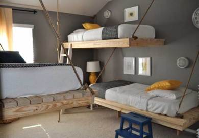 50 Modern Bunk Bed Ideas Architecture And Modern Design