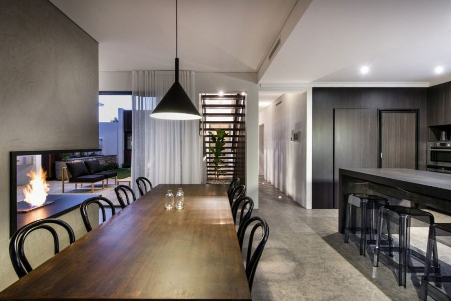 Ravishing Perth Residence Sports Sleek Design And A