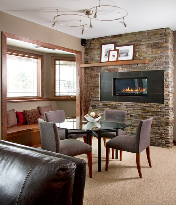 living room with fireplace decorating ideas cheap accessories dining for romantic winter nights view in gallery floating shelf above the a simple display