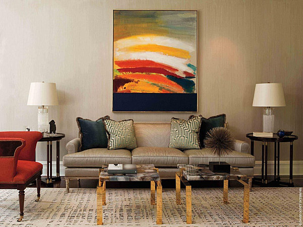 modern artwork for living room paints colors and mood: how they affect interior design