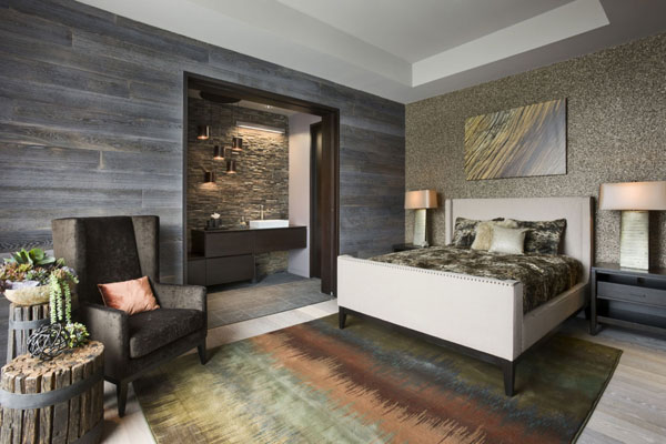 modern rustic bedroom 21 Cheerful Rustic Bedrooms to Inspire You This Winter