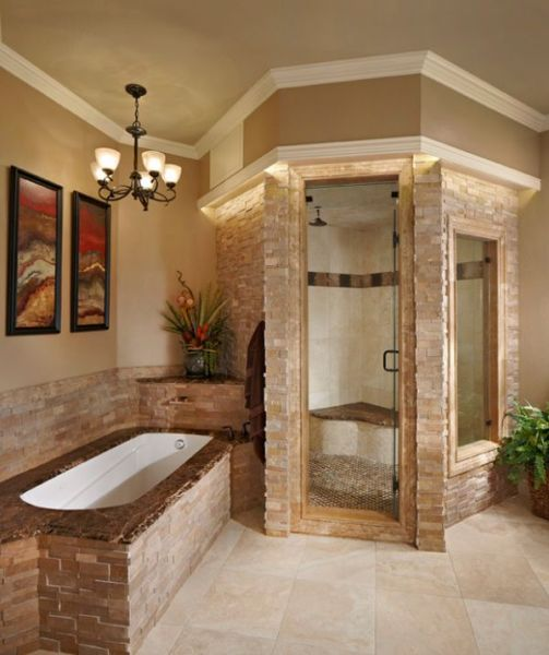 master bathroom tile design ideas Steam Showers For Some Home Spa-Like Luxury!