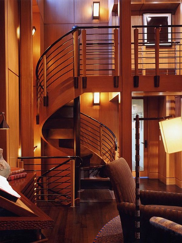 15 Spiral Staircases That Pave The Way To Cloud Nine
