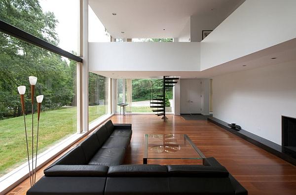 Hermosa casa y ventilado vidrio con altillo expansiva
